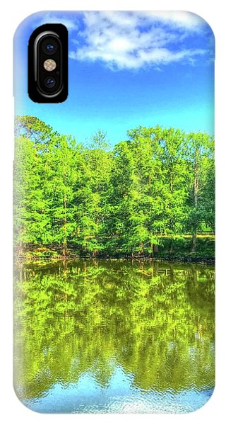 iPhone Case - Wadsworth Park by Debbi Granruth