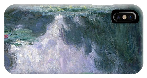 Violet iPhone Case - Water Lilies, Nympheas, 1907 by Claude Monet