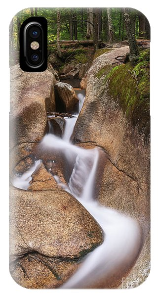IPhone Case featuring the photograph Waterfall At The Basin by Sharon Seaward