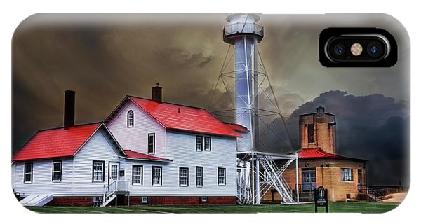 Whitefish Point Lighthouse IPhone Case