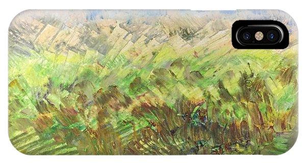 Windy Fields IPhone Case