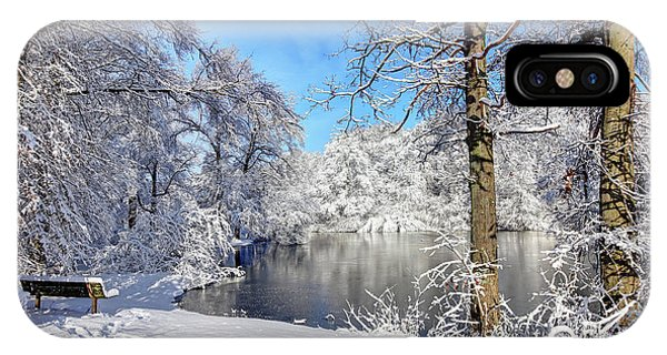 Roxbury iPhone Case - Winter In Boston's Franklin Park by Denis Tangney Jr