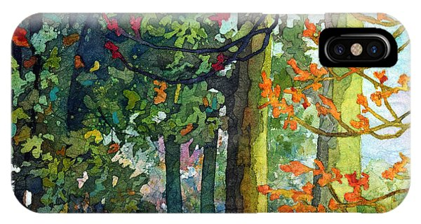 Path iPhone Case - Woodland Trail by Hailey E Herrera