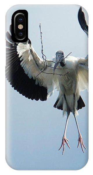 Woodstork Nesting IPhone Case