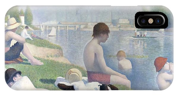 Bathers At Asnieres IPhone Case