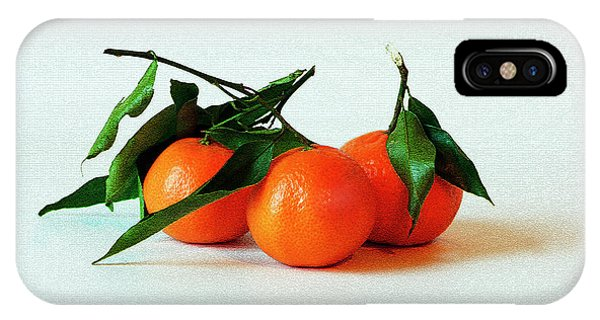 11--01-13 Studio. 3 Clementines IPhone Case
