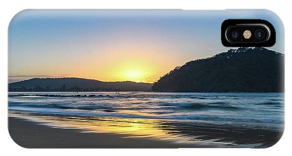 Hazy Sunrise Seascape IPhone Case