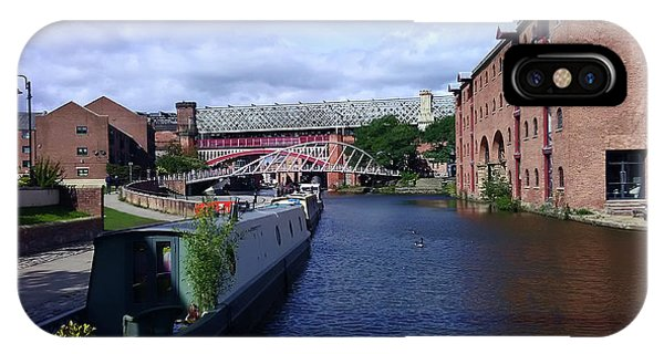 13/09/18  Manchester. Castlefields. The Bridgewater Canal. IPhone Case