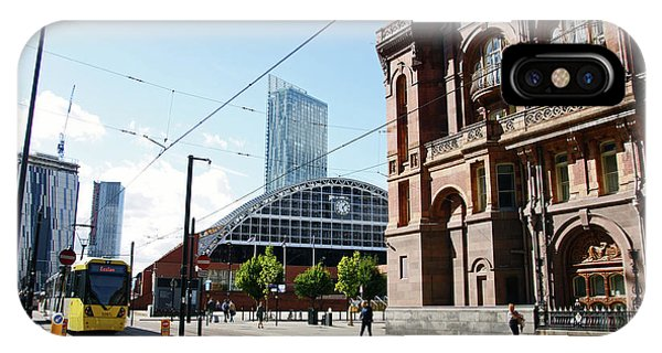 13/09/18  Manchester.  Lower Mosley Street. IPhone Case