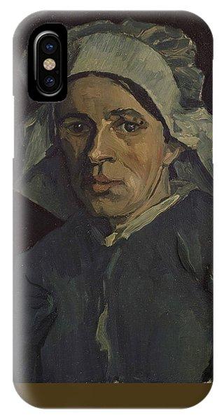 Van Gogh Museum iPhone Case - Head Of A Woman by Vincent Van Gogh