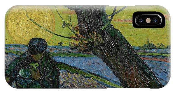 Van Gogh Museum iPhone Case - The Sower by Vincent Van Gogh