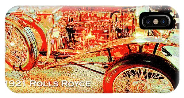 1921 Rolls Royce Classic Automobile IPhone Case