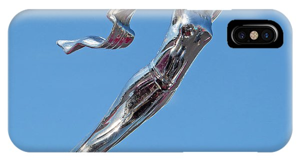 1928 Lasalle Automobile Hood Ornament IPhone Case