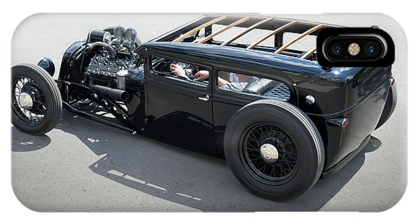 Coupe iPhone Case - 1929 Ford Low Street Rod by Mike McGlothlen