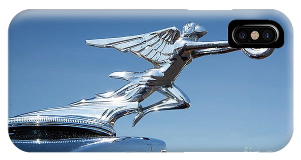 1934 Packard Automobile Hood Ornament IPhone Case