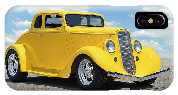 Coupe iPhone Case - 1935 Willys Coupe by Mike McGlothlen