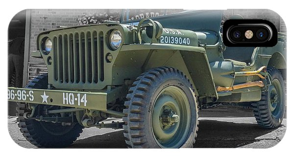 1942 Willys Gpw IPhone Case