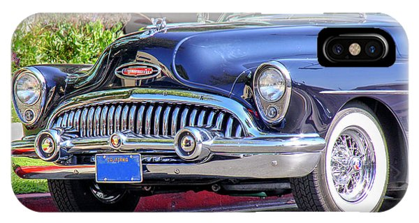 1953 Buick Skylark - Chrome And Grill IPhone Case