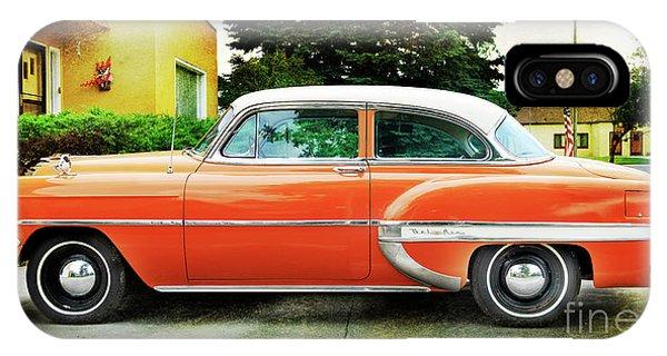 1954 Belair Chevrolet 2 IPhone Case