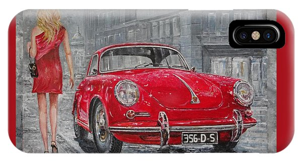 1965 Porsche 356 C IPhone Case