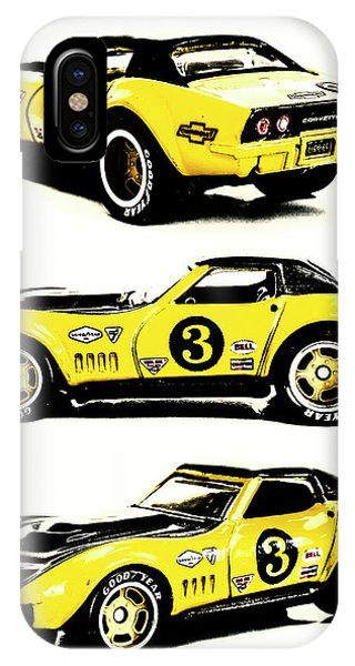 American Cars iPhone Case - 1969 Chevrolet Copo Corvette by Jorgo Photography - Wall Art Gallery