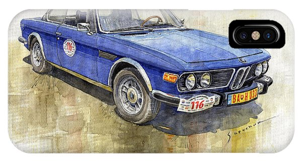0 iPhone Case - 1972 Bmw 3.0 Csi Coupe  by Yuriy Shevchuk