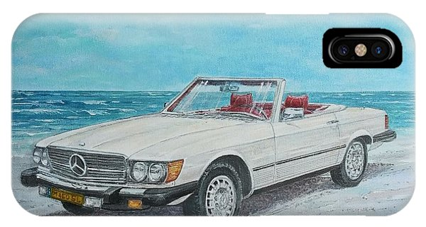 1979 Mercedes 450 Sl IPhone Case