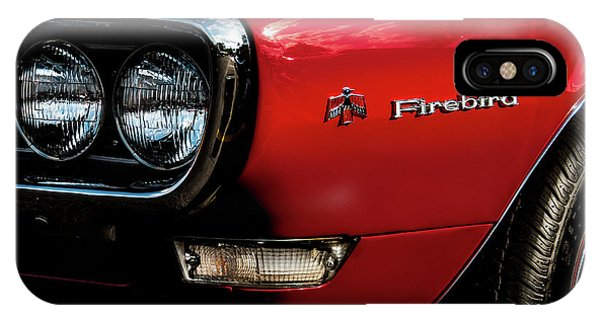 IPhone Case featuring the photograph 1st Generation Firebird by Onyonet  Photo Studios
