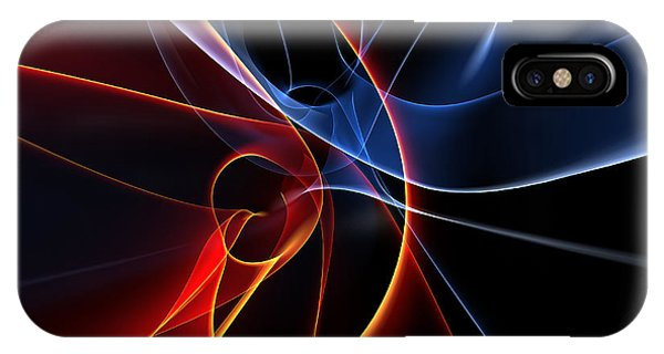 Form iPhone Case - 3d Rendered Backgrounds by Esolbiz