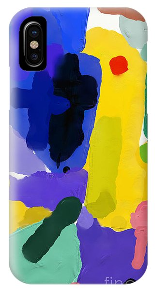 Violet iPhone Case - Abstract, Which Consists Of A Plurality by Dmitriip