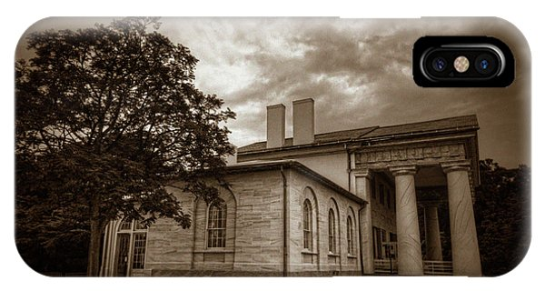 Department Of The Army iPhone Case - Arlington House by Craig Fildes