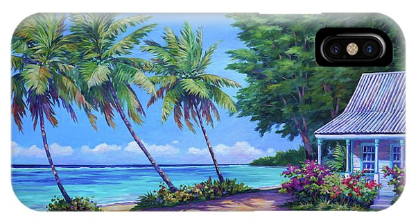Bougainvillea iPhone Case - At The Island's End by John Clark