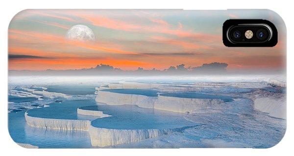 Beautiful Sunrise iPhone Case - Beautiful Sunrise And Natural by Muratart