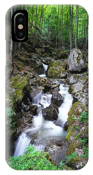 Bela River, Balkan Mountain IPhone Case