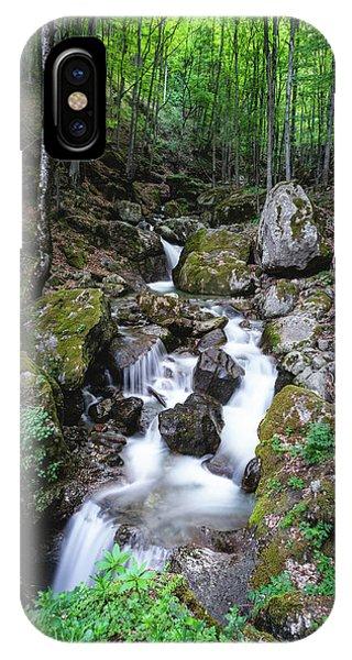 IPhone Case featuring the photograph Bela River, Balkan Mountain by Milan Ljubisavljevic