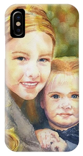 Belle And Maddie IPhone Case