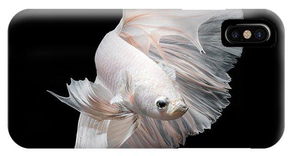 Luxury iPhone Case - Betta Fish,siamese Fighting Fish In by Nuamfolio