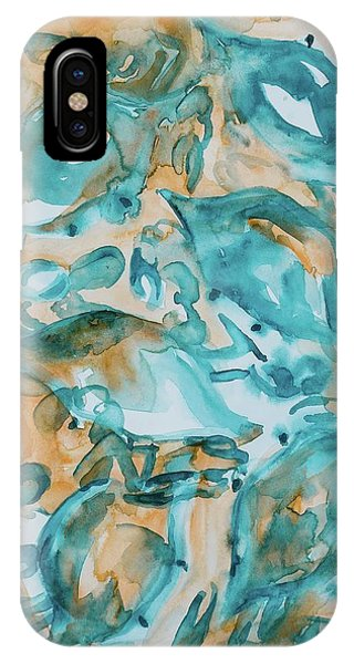 Blue Crabs Together IPhone Case