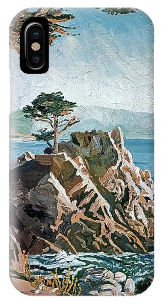 Monterey iPhone Case - Cypress Point Monterey by David Lloyd Glover