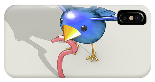 Results iPhone Case - Early Bird Catches The Worm by Allan Swart