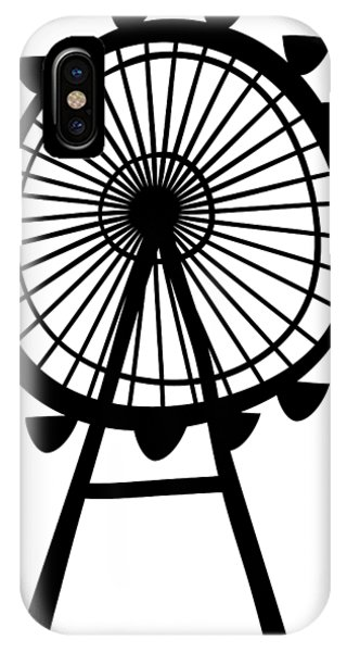 iPhone Case - Ferris Wheel by Michal Boubin