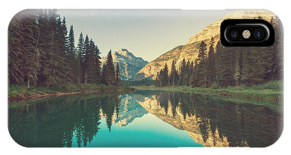 Serenity iPhone Case - Glacier National Park, Montana by Galyna Andrushko