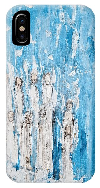 Heavenly Host Of Angels  IPhone Case