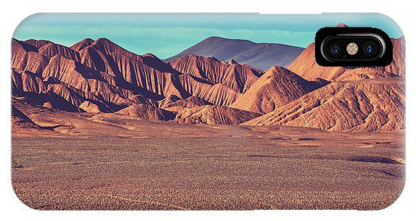 Argentina iPhone X Case - Landscapes Of Northern Argentina by Galyna Andrushko
