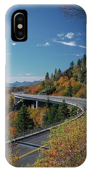 Linn Cove Viaduct - Blue Ridge Parkway IPhone Case