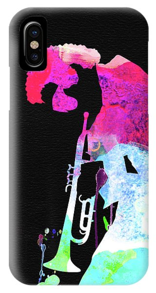 Print iPhone Case - Miles Watercolor by Naxart Studio