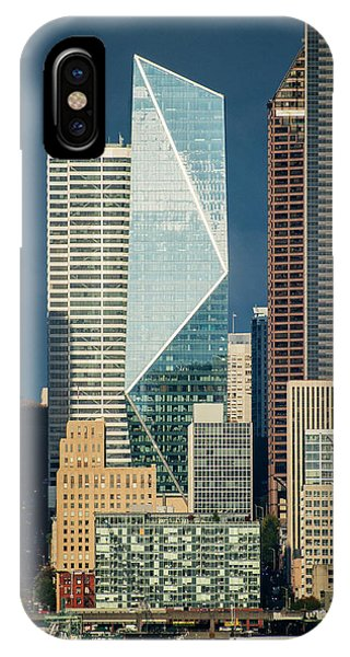 iPhone Case - Modern Architecture In City, Seattle by Panoramic Images