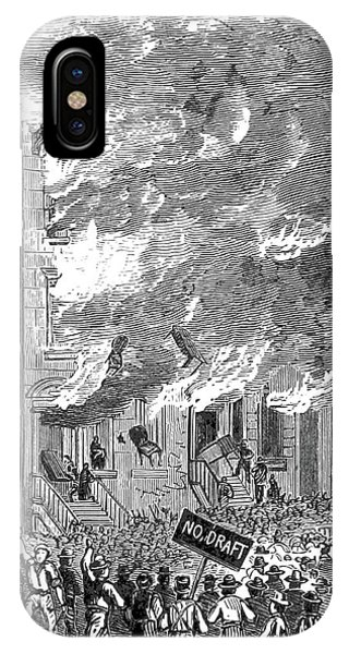 New York City Draft Riots, 1863 Phone Case by British Library