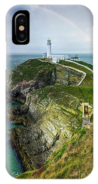 South Stack Lighthouse IPhone Case