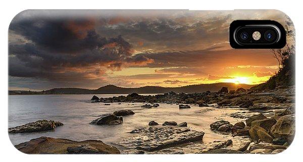 Stormy Sunrise Seascape IPhone Case